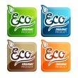 Eco Labels — Stock Vector #18610821