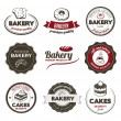 Stock Vector: Bakery Badges
