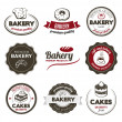 Bakery Badges - Stock Vector