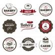 Bakery Badges — Stock Vector