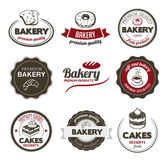 Bakery Badges — Stock Vector