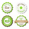 Eco Badges — Stock Vector #21982987