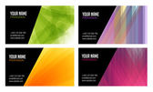 Abstract Business Cards — Stockvektor