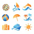 Setravel icons — Stock Vector #25128323