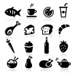 Food Icons — Stock Vector #25353847