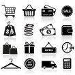Shopping Icons — Stock Vector #28387841