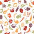 Food Seamless Pattern — Stock Vector #28891589