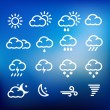 Weather Icons — Stock Vector #31263329