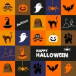 Halloween background — Stockvectorbeeld