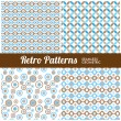 Retro Patterns — Stock Vector #33947249