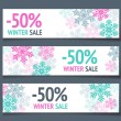 Winter Sales Banners — Stock Vector #35305669