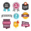 Sales Badges and Labels — Stock Vector