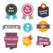 Sales Badges and Labels — Stock Vector #36715407