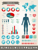 Medical Infographics — Stock Vector
