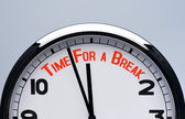 Time for a break concept. — Foto de Stock