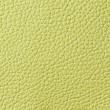 Lemon green leather texture — Foto Stock