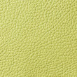 Lemon green leather texture — Photo