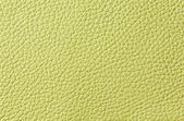 Lemon green leather texture — Stock Photo