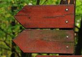 Indicaciones de la flecha — Foto de Stock