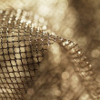 Golden fabric — Stock Photo #18237217