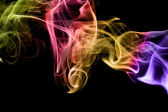 Fumaça multicolorida — Fotografia Stock