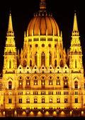Budapeşte (detay bina Parlamento) — Stok fotoğraf