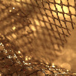 Golden fabric — Stock Photo #19462655