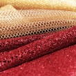 Golden and red fabric — Stock Photo #20993587