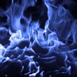 Stock Photo: Blue fire