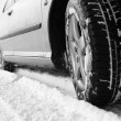 Winter tyre — Stock Photo #22156241