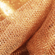 Golden fabric — Stock Photo #25746137