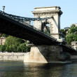 Szechenyi Chain Bridge — Stock Photo