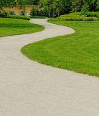 Winding path through — Stock Photo