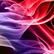 Multicolored smoke — Stock Photo