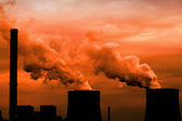 Thermal power station — Stock Photo