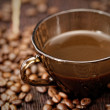 Cup of coffee close-up — Stock Photo #32537225
