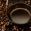 Cup of coffee close-up — Stock Photo #32537267