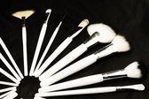 Make-up brushes — Stock Photo