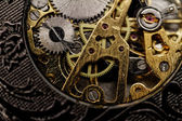 Watch gears very close up — Stok fotoğraf