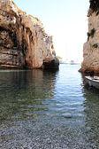 Stiniva bay en la isla de vis — Foto de Stock