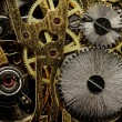 Watch gears very close up — Stock Photo #32679929