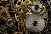 Watch gears very close up — Zdjęcie stockowe