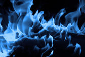Blue flame — Stock Photo