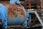 油泵电机 — 图库照片