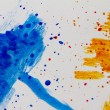 Paint splashing — Foto Stock