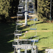 Ski lifts — Stock Photo