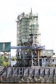Cement factory machinery — Stock Photo