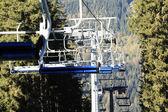 Ski lifts — Stock Photo