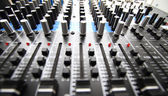 Mezclador de grabación — Foto de Stock