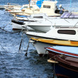 Small motorboats — Stock Photo #35187699